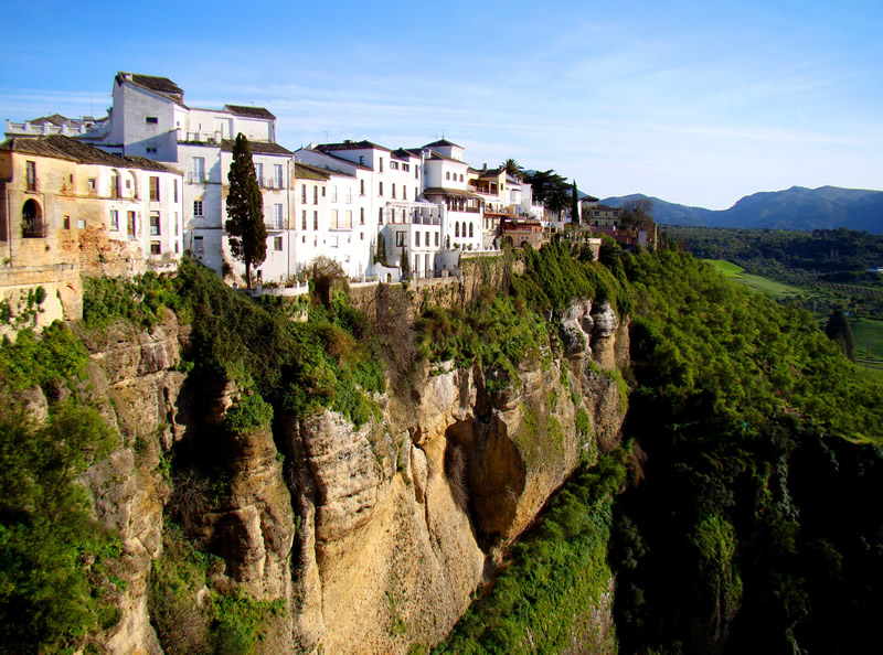 Hanging houses of Ronda