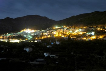 Casarabonela at night time