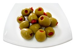 Filled olives