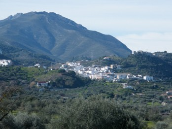 Panoramic view of Monda
