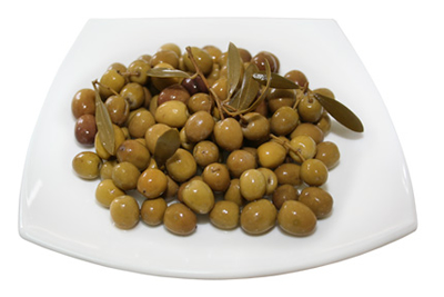 Whole olives, Arbequina type